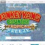 舞台は6つの島!米国任天堂、『ドンキーコング トロピカルフリーズ』のティザーサイトを公開