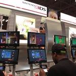 3DSの画面は目の前のモニターにも表示の画像