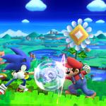 『大乱闘スマッシュブラザーズ for Wii U』に『ソニック ロストワールド』のステージ登場 ― 特徴ある風景をバックにマリオとソニックが戦う画像が公開