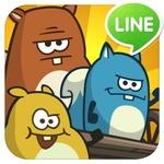 ガラクタカートでトリックを決めろ!アクショントリックゲーム『LINE ドングリっス』配信開始