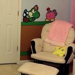 両親のハンドメイド!『ペーパーマリオ』モチーフのキュートすぎる育児部屋が海外に登場