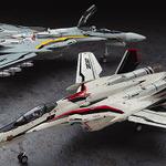 ハセガワから「1:72スケール  VF-25F/S メサイア」が登場、アルト機F型とオズマ機S型の選択式