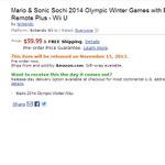 Wii Uソフト『マリオ&ソニック AT ソチオリンピック』北米ではWiiリモコンプラス同梱版が登場