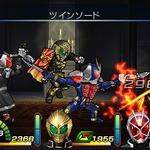 『仮面ライダー トラベラーズ戦記』仮面ライダー鎧武の特別フォーム「ウィザードアームズ」がゲームに初登場