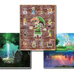 北米版クラブニンテンドーの景品に『ゼルダの伝説 神々のトライフォース』の3枚組ポスターが登場