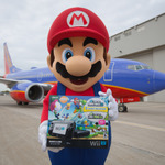 マリオがサウスウエスト航空の利用者にWii Uをサプライズプレゼント