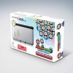 米国任天堂、銀色の限定デザイン3DS LLと『マリオ&ルイージRPG4 ドリームアドベンチャー』バンドルセットの発売を開始