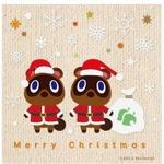 『どうぶつの森』や『FFXIII』、そしてセガから、みなさんに可愛いクリスマスイラストをお届け ─ メガネ美人のあの人からも!?