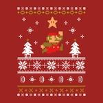 楽しいクリスマスを!欧州任天堂、マフラーのようなクリスマスアート付きメッセージをTwitterに投稿