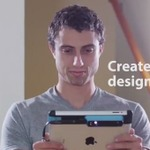 【CES 2014】3D Systems、iPadを3Dスキャナにできる「iSense 3D scanner」を発表