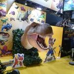 【WHF 2014冬】本物の恐竜の化石を見て触れた!任天堂ブース『カセキホリダー ムゲンギア』レポート