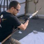 まさに鋼の鍛冶職人!今度は「ハガレン」の主人公・エドの錬成槍を製作