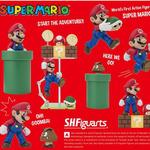 S.H.フィギュアーツ『スーパーマリオブラザーズ』稼働フィギュアが6月に登場!2種のジオラマセットも同時発売
