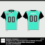 抽選で任天堂仕様の特製アメフトTシャツが当たる!「スーパーボウル 2014」をTViiで観戦しようキャンペーンが実施