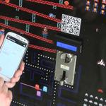 「ビットコインいっこいれる」仮想通貨「Bitcoin」でプレイできるアーケードゲーム筐体現る