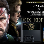 『MGSV GZ』同梱のPS4オリジナルデザイン本体「FOX EDITION」が発売決定!