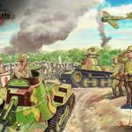 『World of Tanks』「イラストで知る日本戦車」第4弾は小林源文先生による「九五式軽戦車ハ号」