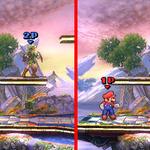 『スマブラ for 3DS』キャラクターの「ふちどり」あり・なしの比較画像が公開