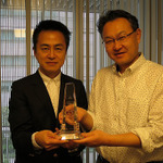 PS4と『ソリティ馬』に「エンタテインメントの未来考える会 2013年度大賞」受賞盾授与、「黒川塾(18)」5月9日開催