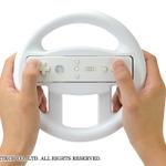 『マリオカート8』に最適!ハンドル型Wiiリモコンアタッチメント「ドライビングリップU」