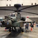 【ニコニコ超会議3】幕張に舞い降りた「空飛ぶ戦車」、AH-64D アパッチ・ロングボウ