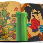 任天堂の2014年会社案内パンフレットは花札風!マリオやルイージが「桐に鳳凰」の一部に