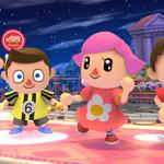 『スマブラ for 3DS/Wii U』の「むらびと」は、女の子2人を含む計4タイプから選択可能