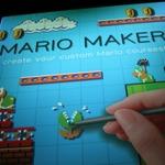 【E3 2014】誰もが簡単にマリオのステージを作れる『マリオメーカー』を体験