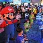 【E3 2014】任天堂、子どもたちを招いて会場で「キッズコーナー」イベントを開催・・・宮本氏らも参加