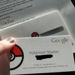 """Googleが世界中の""""ポケモンマスター""""に名刺風認定カードを送付、世界中から報告が"""