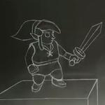 『ゼルダの伝説 神トラ2』のチョークを使ったストップモーション動画が巧みの技