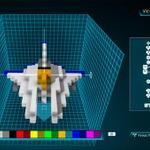 「機体クリエイターモード」が実装された『RESOGUN』、海外ユーザーが「ビックバイパー」や「ブルーファルコン号」を制作