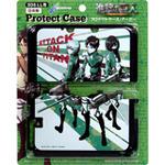 「進撃の巨人」がデザインされた3DS LL用プロテクトケースとゲームカードケース発売