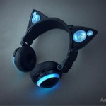 海外で発表されたネコミミヘッドホンがとってもキュート ― 近くの人の音楽をシェアできる機能も