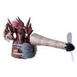 ガンランスから風が発生!『モンハン』USB卓上ファン発売 ― 「竜撃砲」を再現した光るギミック付き