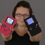 マイコンと3Dプリンタで自作するゲームボーイ風ハード「PiGRRL」