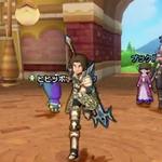 【Nintendo Direct】3DS版『ドラクエX』はWii U並のキャラ表示数を実現 ― Ver.2の内容をプレイしている姿も確認