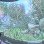 巨大球面スクリーン採用のガンシュー『ロストランドアドベンチャー』は、まるでVRの様な迫力の画像