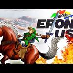 リンクの愛馬「エポナ」が『デイトナUSA』のサーキットを爆走するファンメイドのミックス映像
