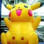舞鶴に高さ9mの巨大ピカチュウ出現!「第11回海フェスタ京都」開催始まる
