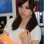 【China Joy 2014】雨の上海、でも熱気十分の会場でお出迎え、美女コンパニオン二日目編