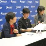 左からコザキユースケ氏、由良浩明氏、イシイジロウ氏の画像