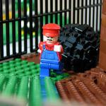 『スーパーマリオ64』のステージ1をレゴで完全再現!海外ファンの作品が話題に