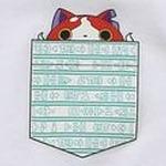 妖怪ウォッチとビームスがコラボTシャツを発表、ポケットから顔を出すジバニャンやコマさんが実にキュート