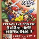 『大乱闘スマッシュブラザーズ for 3DS』ダウンロードカードが販売開始、容量は2.1GB