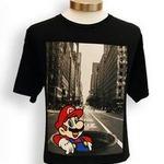 NYの街並みにマリオたちが!任天堂のTシャツ新シリーズ「Real NYC」発売