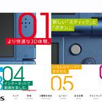 「New ニンテンドー 3DS/LL」の公式サイトがオープン、Q&Aや非対応ソフトのリストが公開