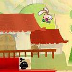 走ること跳ぶこと、うさぎの如し!簡単アクション『カンフーラビット』3DSに登場