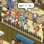 【剣と魔法のログレス プレイ日記02】ダンスパーティ開催!?コミュニケーションが楽しくなってきた!の画像