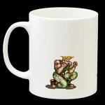 『ストII』伝説の戦術「待ちガイル」がなぜかマグカップに!裏面には餌食になるザンギエフの姿も・・・